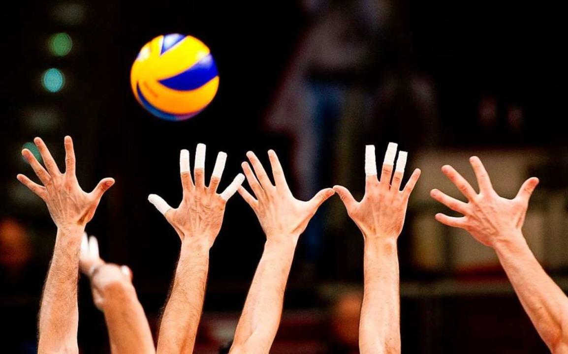 Zweitliga-Volleyball wird in Freiburg nun auch in der nächsten Saison  gespielt.  | Foto: Dpa