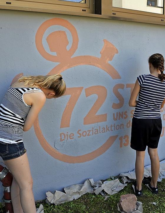 Wie schon 2013 wollen Jugendliche wieder etwas für den guten Zweck tun.  | Foto: Roland Vitt
