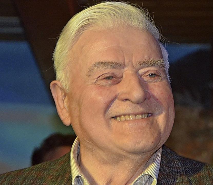 Für 60 Jahre Mitgliedschaft in der CDU...Todtmooser Fritz Kaiser ausgezeichnet.  | Foto: Christiane Sahli