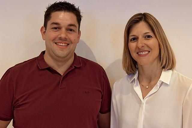 Ein Duo führt den Gewerbeverein