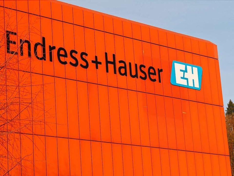 Endress+Hauser – hier der Standort in Maulburg.  | Foto: Robert Bergmann