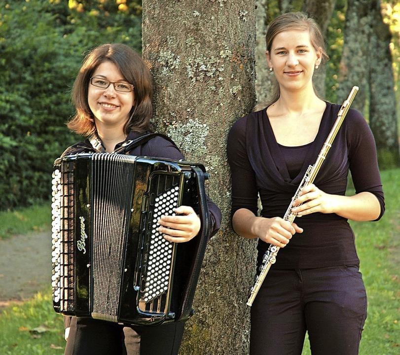 Karin Fleck (links) und Antonia Krutz sind das Duo Flakkanto  | Foto: privat