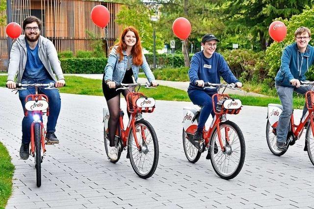 So funktioniert Freiburgs neues Fahrradleihsystem Frelo