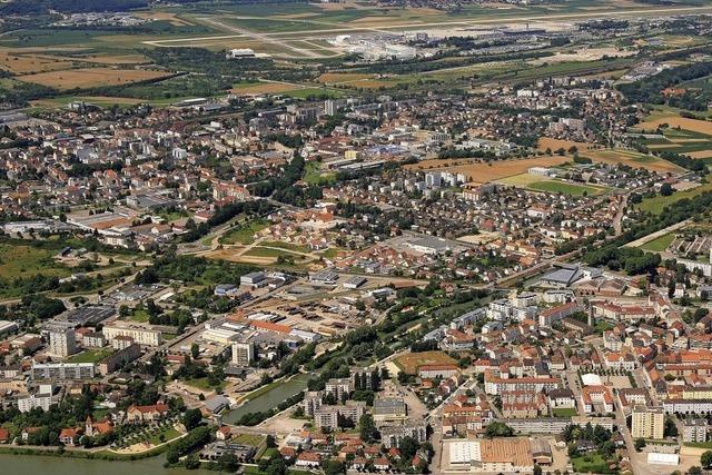 Neue Quartiere und Einkaufszentren