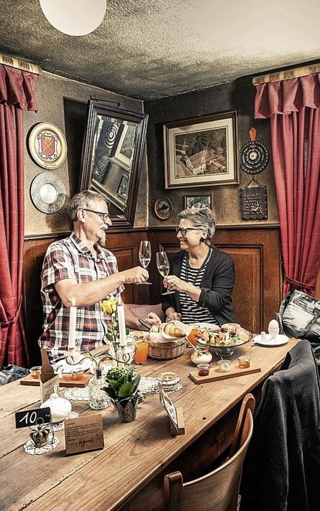 Die Gäste schätzen das urige Ambiente der Wirtschaft.   | Foto: Birgit-Cathrin Duval
