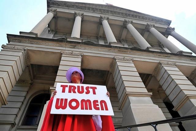 Abtreibungsgesetze entzweien die USA