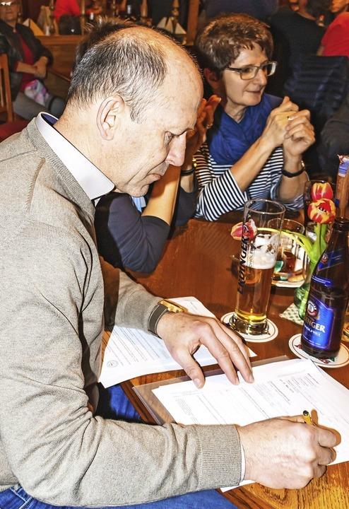 Christian Behringer kandidiert bei der...wahl auf der Liste der Freien Wähler.   | Foto: Wilfried dieckmann