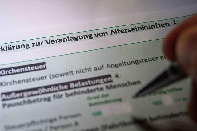 Land will Rentnern einfachere Steuererklärung ermöglichen