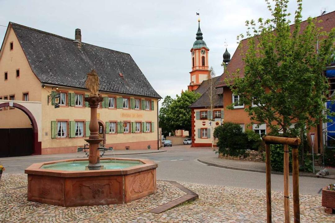 Nach Wunsch einiger Kandidaten soll Me... und den Stockbrunnen erhalten werden.    Foto: Mario Schöneberg