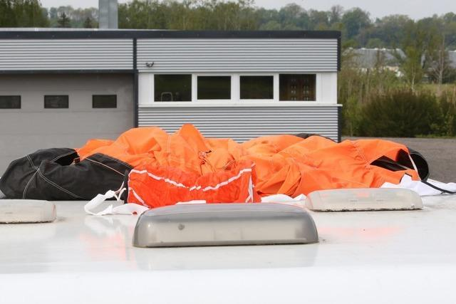 Zwei Menschen sterben bei Flugunfall in Bad Saulgau