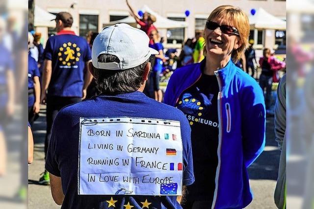 3. Run for Europe