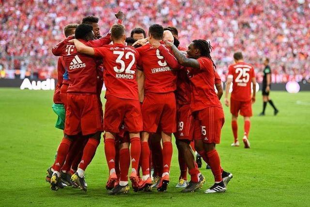 Bayern München gewinnt 5:1 gegen Frankfurt und ist erneut Meister