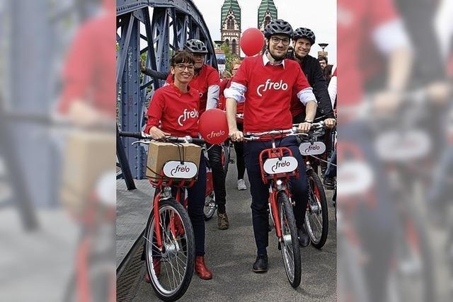 Fahrradverleihsystem Frelo gestartet
