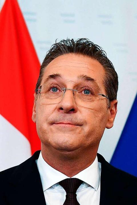 Österreichs Vizekanzler  Strache ist n... von all seinen Ämtern zurückgetreten.  | Foto: Helmut Fohringer (dpa)
