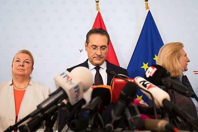 Nach dem Rücktritt von Strache bleiben einige Fragen offen