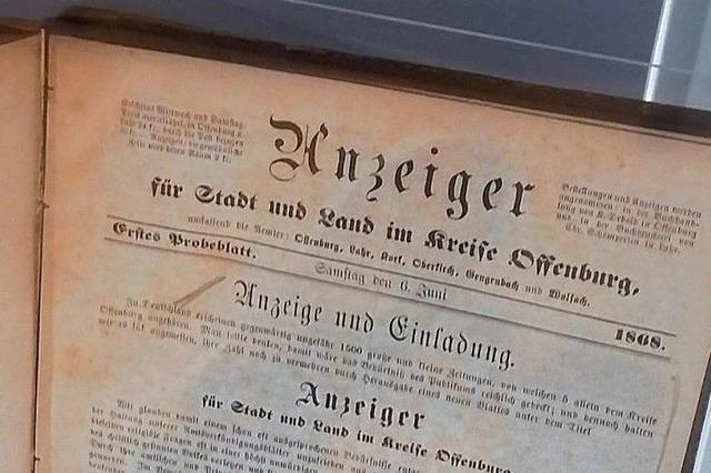 Der Lahrer Anzeiger – eine Zeitung mit bewegter Vergangenheit
