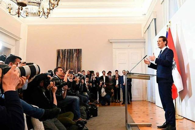 Österreichs Kanzler Kurz kündigt Koalition und setzt auf Neuwahlen