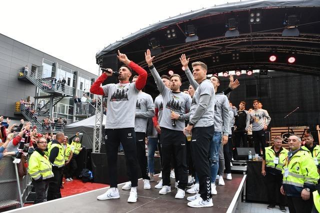 SC Freiburg bedankt sich bei Fans und freut sich auf Malle