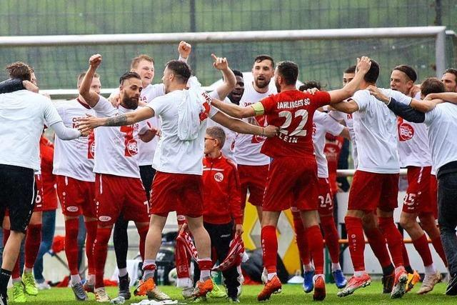 Bahlinger SC macht Regionalliga-Aufstieg perfekt