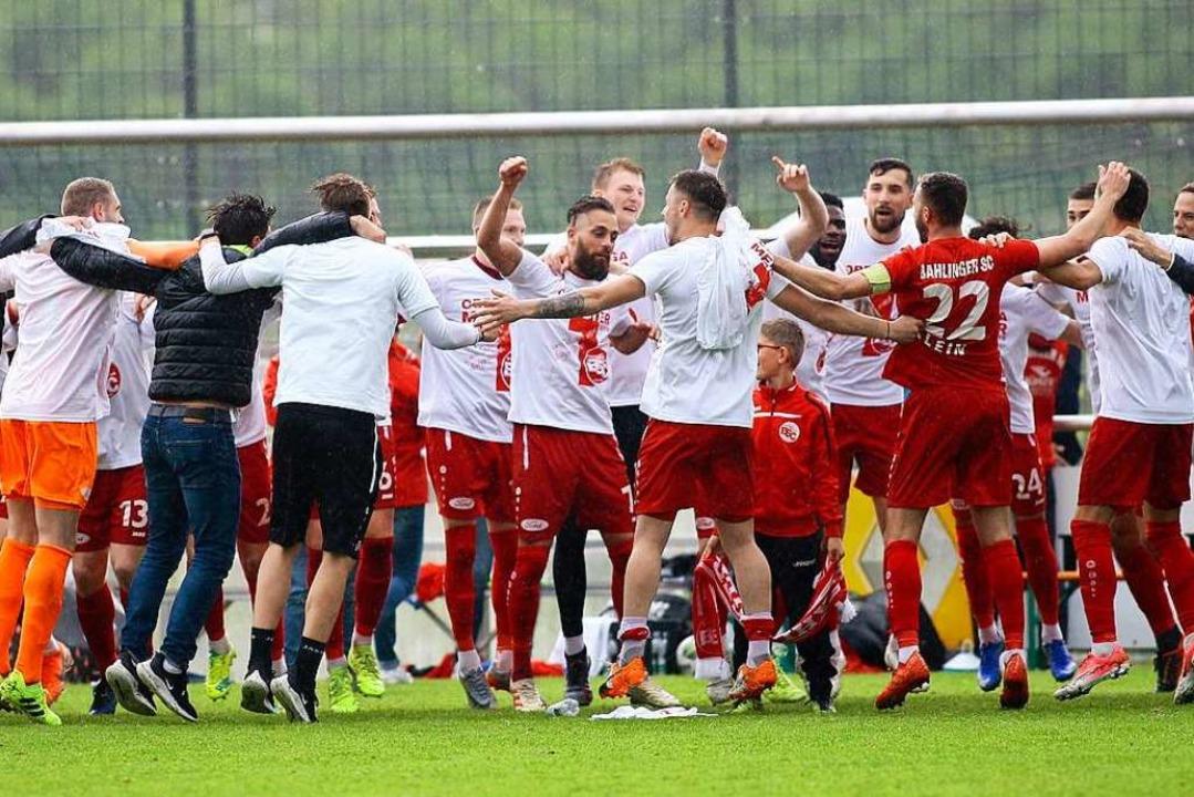 Der Bahlinger SC ist vorzeitig Meister in der Oberliga Baden-Württemberg.  | Foto: Peter Aukthun-Goermer
