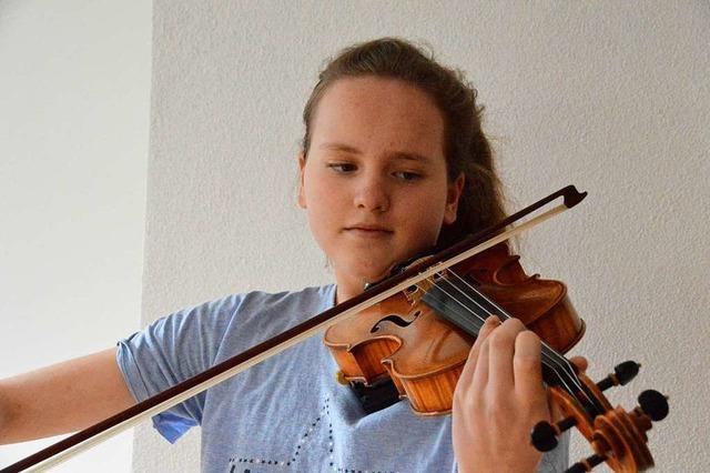 13-jährige Oberriederin will Bundeswettbewerb von