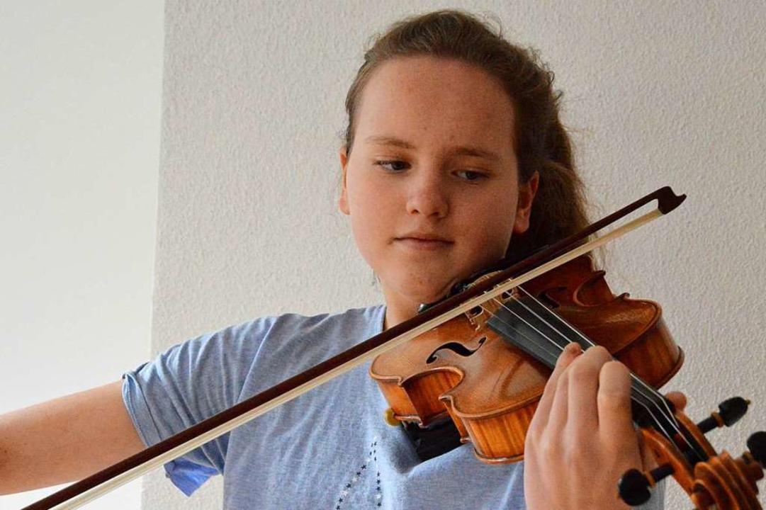 Fährt im Juni zum Bundeswettbewerb von...tfindet: Nathalie Schanz aus Oberried.  | Foto: Horatio Gollin