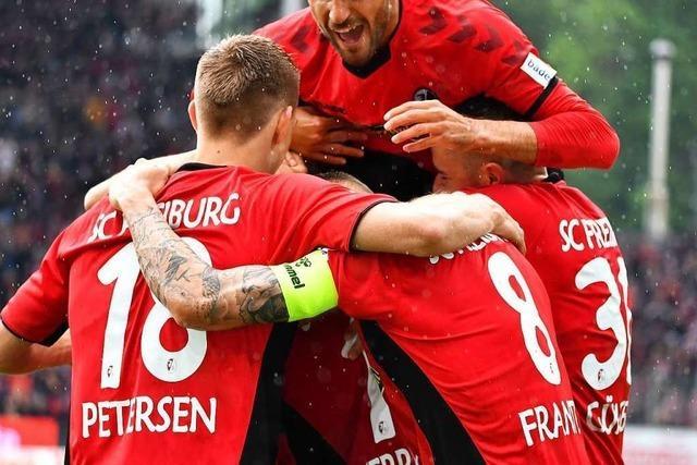Gegen Nürnberg feierte der SC Freiburg mit 5:1 seine Abschlussgala