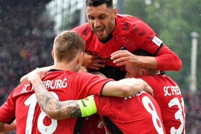 Gegen Nürnberg feierte der SC Freiburg seine Abschlussgala