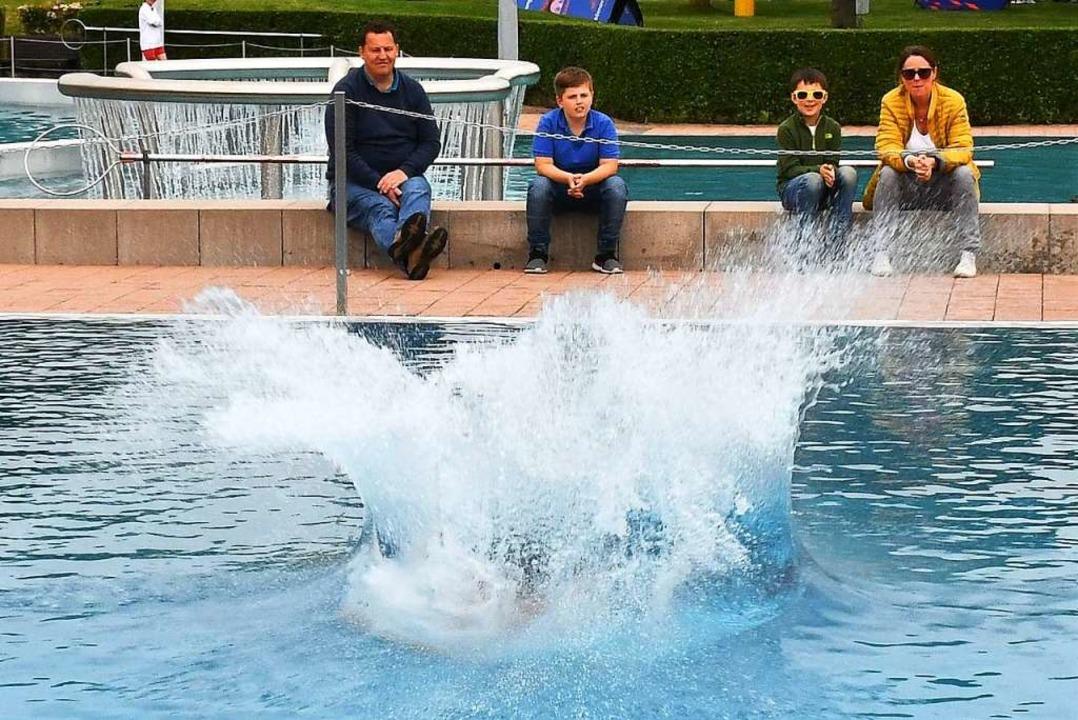 Wer macht beim Sprung ins Wasser den größten Splash?  | Foto: Barbara Ruda