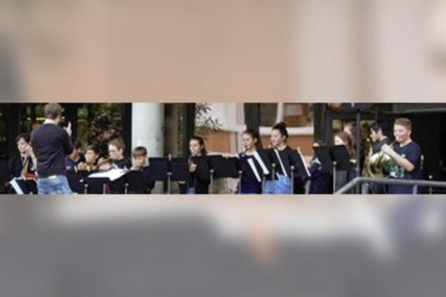 Schulhof am Kant-Gymnasium wird zum Konzertsaal