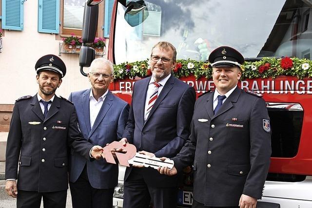 Neues Einsatzfahrzeug für Bahlingens Feuerwehr