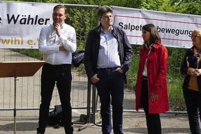 Salpetererbewegung Pro Albtal will endlich Taten sehen