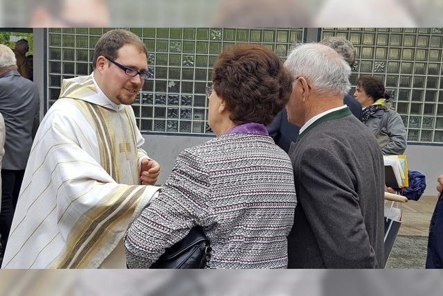 Heimspiel für den Neupriester