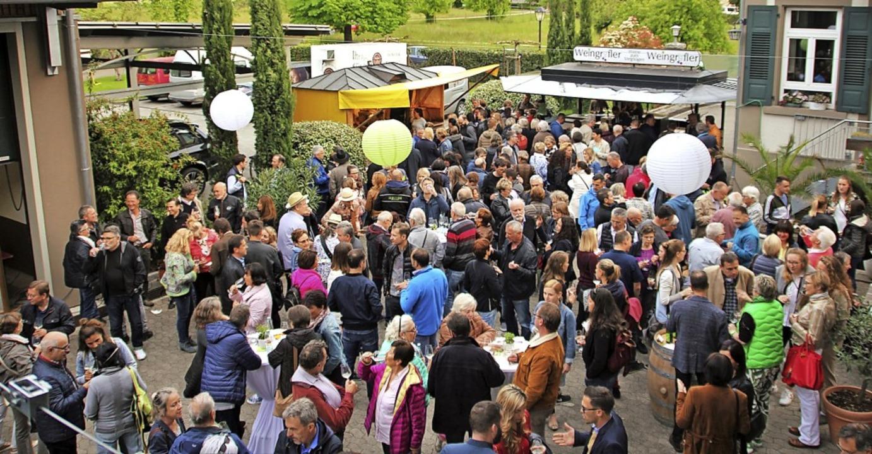 Genussvolles Treffen beim Grünen Markgräfler 2018 und mehr in Heitersheim  | Foto: Sabine Model
