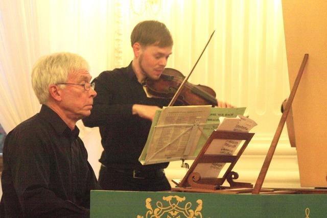 Furiose Barockmusik im Kollegssaal