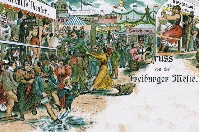 Freiburger Mess' im Wandel der Zeit