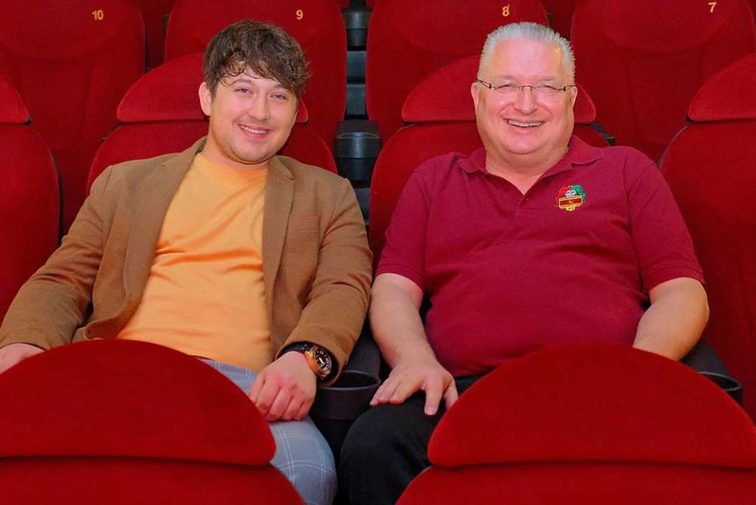 Maurice L. Kubitschek (Langsommer Film...hts) im Cineplex bei der Filmpremiere.  | Foto: Ansgar Taschinski