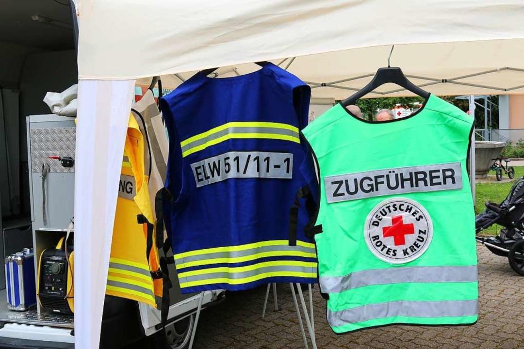Beim Tag der Präsentation wurde das fa...s Deutschen Roten Kreuzes vorgestellt.  | Foto: Katharina Kubon