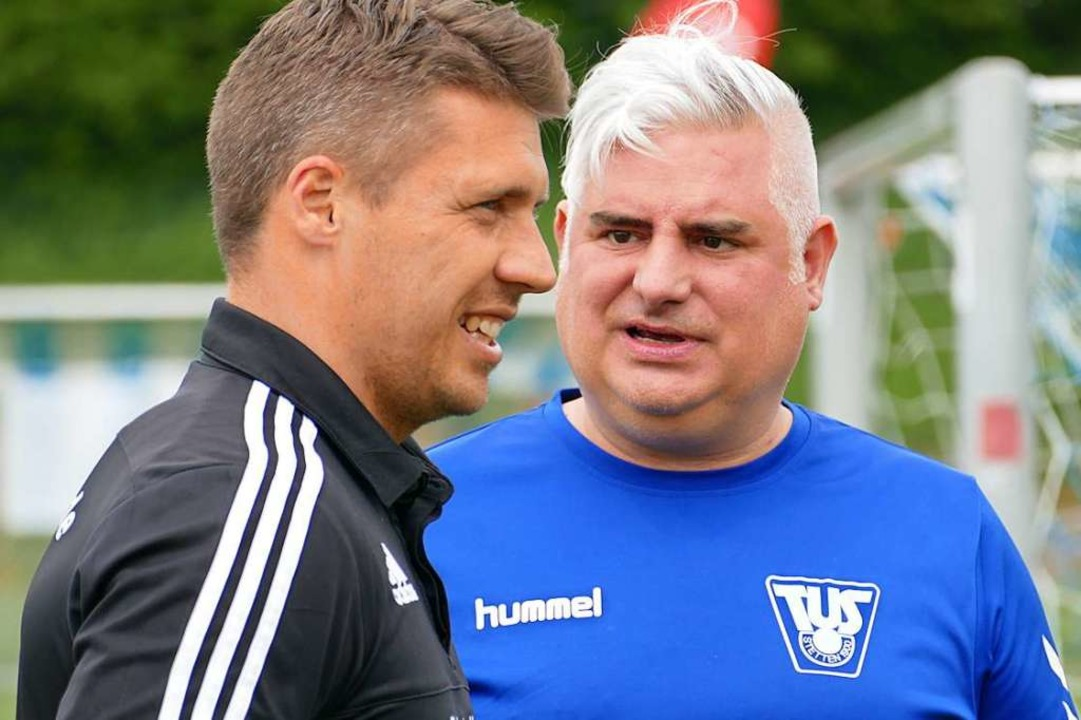 Andreas Lichtner (links) und Ivica Jurkovic.  | Foto: Peter Gerigk