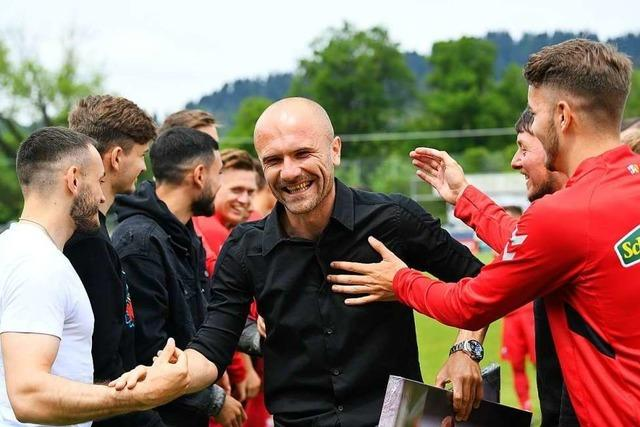 SC Freiburg II feiert gelungen Abschied von Ivica Banovic