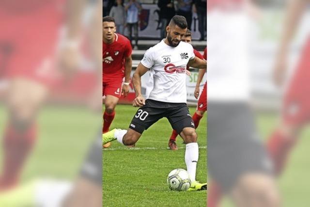 Ümüt Sönmez erzielt alle drei Tore