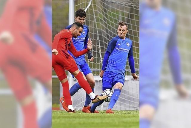 Dreckiger Sieg des FC Bad Dürrheim