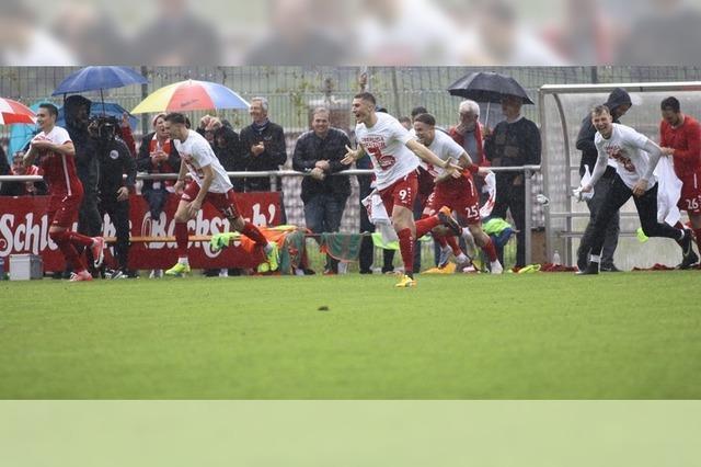 Bahlinger SC feiert größten Erfolg der Vereinsgeschichte
