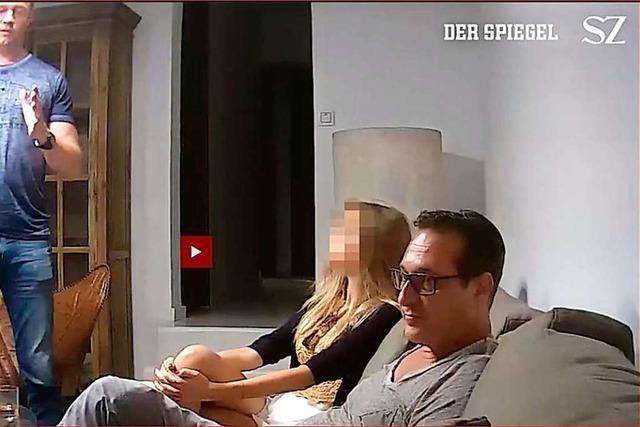 Was wir über das Strache-Video wissen – und wie es jetzt weitergeht