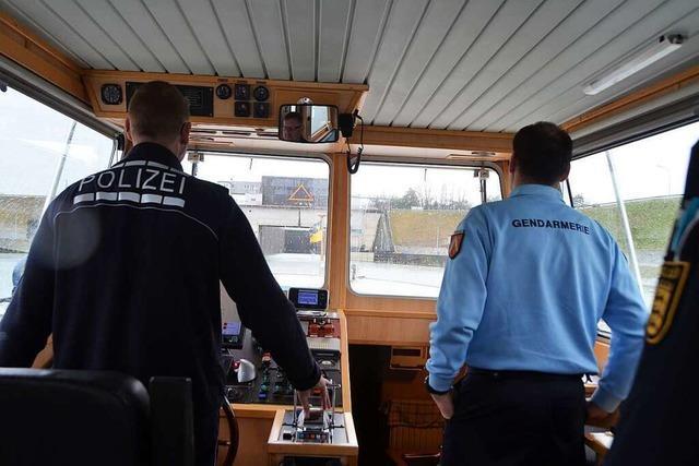 Unterwegs mit der Wasserschutzpolizei