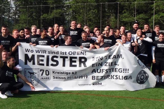 FC Wolfenweiler-Schallstadt steigt in die Bezirksliga auf