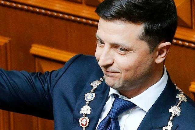 Selenski löst ukrainisches Parlament auf und setzt Neuwahlen an