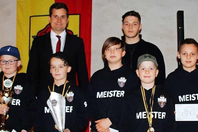 Beim Frühjahrs-Empfang in Merdingen werden junge Sportler geehrt