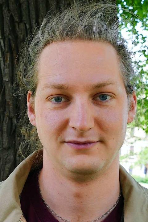 "Kilian Rodda, 22, England, Politikwiss... Elemente implementiert werden.""  | Foto: Dominik Neininger"