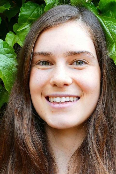 "Belen Rodriguez, 21, Spanien, Medizin:...ttlerweile eher als Europäerin.""  | Foto: Dominik Neininger"